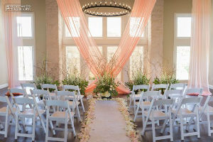Vintage Villas Indoor Ceremony Site - Plan B